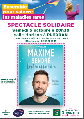 Affiche Spectacle Solidaire